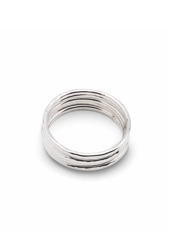 HAND MADE SILVER STACKER RINGS - Tluxe