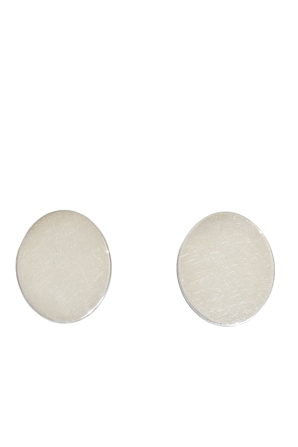SUSAN DRIVER POLISHED OVAL EARRINGS - Tluxe