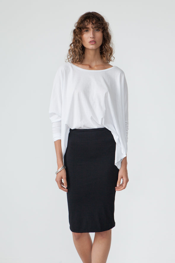 BAMBOO TUBE SKIRT - Tluxe