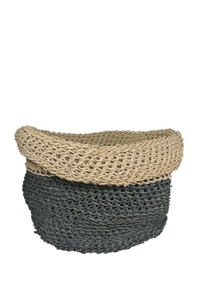 HANDMADE RECYCLED PAPER BASKET -  X LARGE - Tluxe