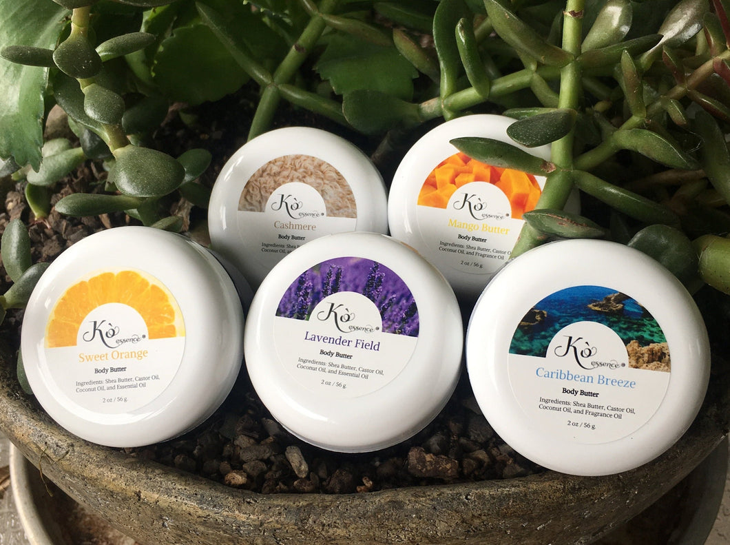 Body Butter Sampler Set (Set of Five)
