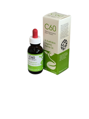 C60 Organics in Hemp Oil 100ml