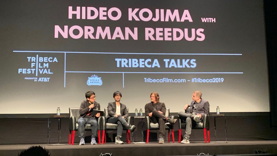 Kojima at Tribeca 2019