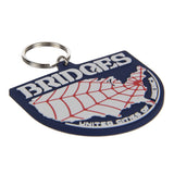 DEATH STRANDING Bridges Rubber Keychain