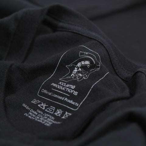 KOJIMA PRODUCTIONS Gold Logo T-Shirt