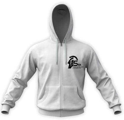 KOJIMA PRODUCTIONS 5th Anniversary Zip Hoodie