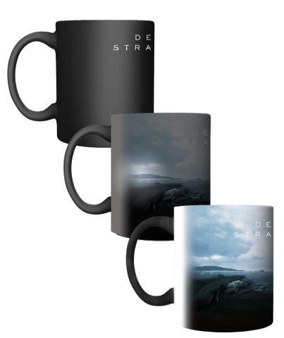 DEATH STRANDING Beach Heat Reactive Mug
