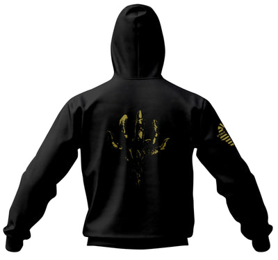 DEATH STRANDING Sweat à Capuche Zippé Gold Titan