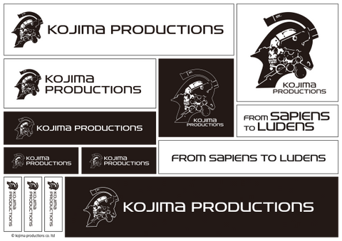 Kojima Productions Sticker Sheet