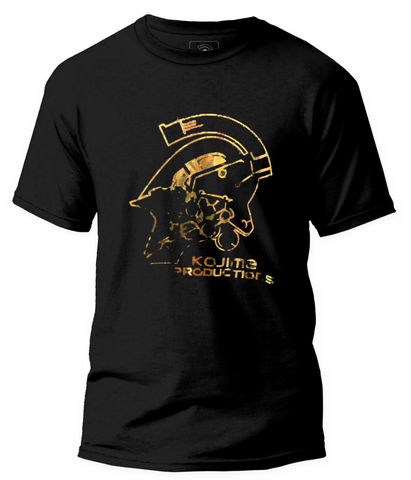 KOJIMA PRODUCTIONS Logo Gold Foil T-Shirt