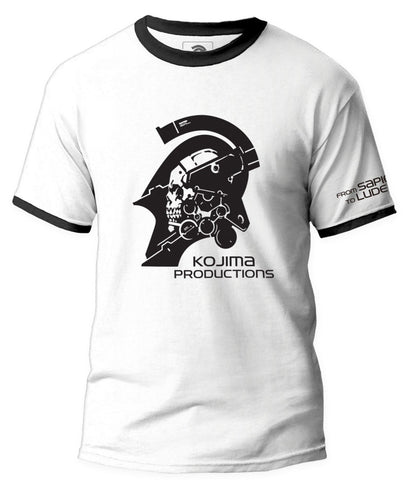 KOJIMA PRODUCTIONS Logo Ringer T-Shirt