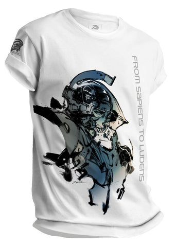 KOJIMA PRODUCTIONS LUDENS Art Print T-Shirt