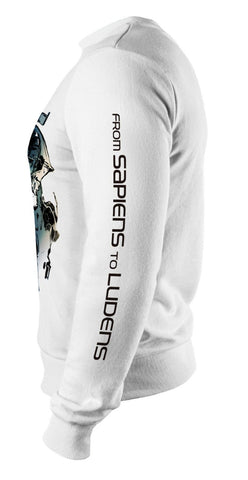 KOJIMA PRODUCTIONS LUDENS Art Print Sweatshirt