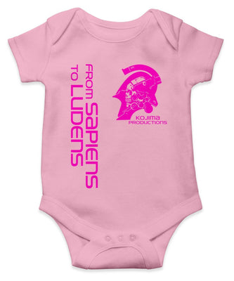 KOJIMA PRODUCTIONS 'From Sapiens To Ludens' Baby Onesie