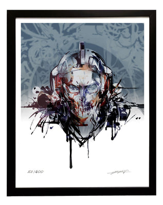 LUDENS Framed, Signed Poster No.2