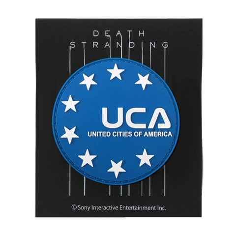 DEATH STRANDING United Cities Removable Patch