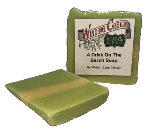 A Drink on the Beach Soap