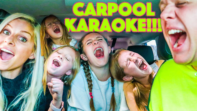 Carpool Karaoke!! Singing Adele and Lots of awesome hits!