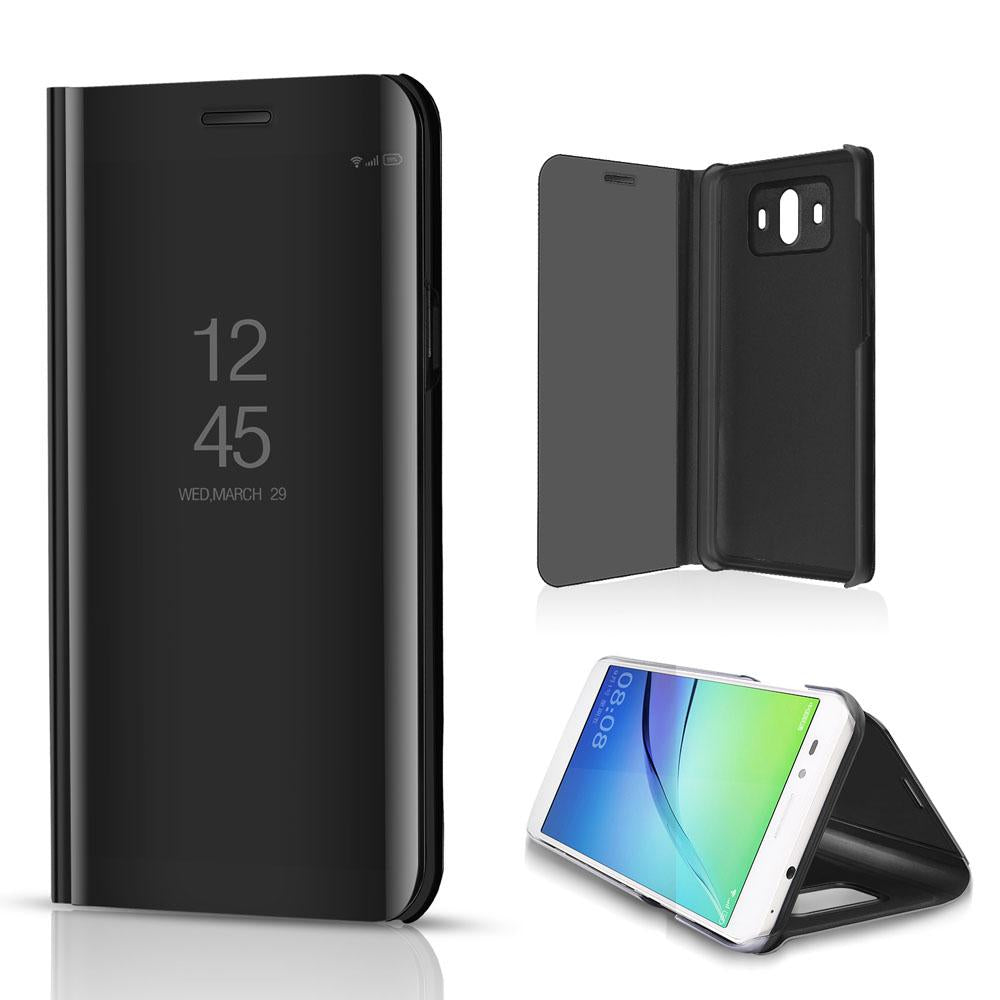 info for f10f6 b1eaa Smart Mirror Flip Cover Phone Case For Huawei Mate 9 / Mate 9 Pro / Mate 10  / Mate 10 Pro