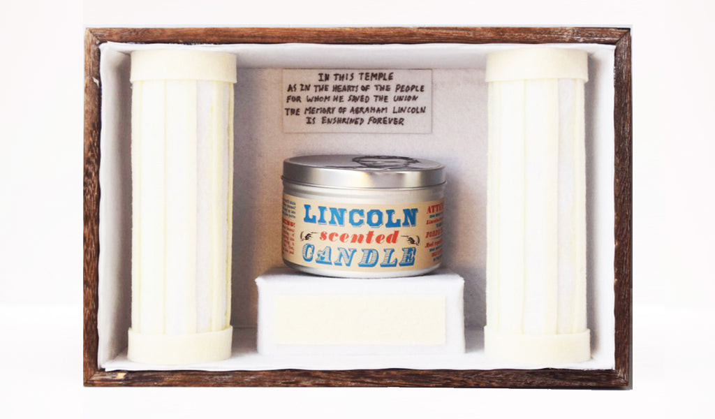 Lincoln-Scented Candle