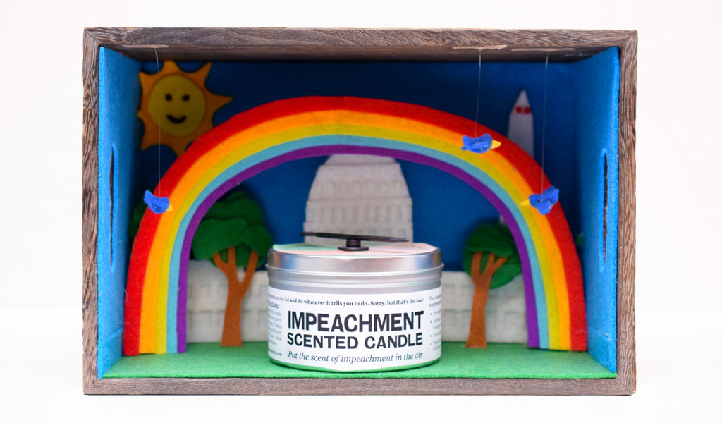 Impeachment-Scented Candle