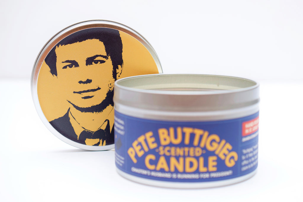 Pete Buttigieg-Scented Candle