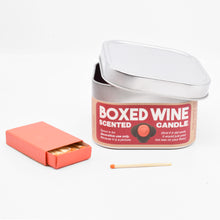 Load image into Gallery viewer, Boxed Wine-Scented Candle
