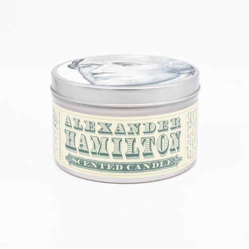Alexander Hamilton-Scented Candle