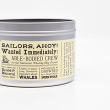 Load image into Gallery viewer, Moby-Dick-Scented Candle
