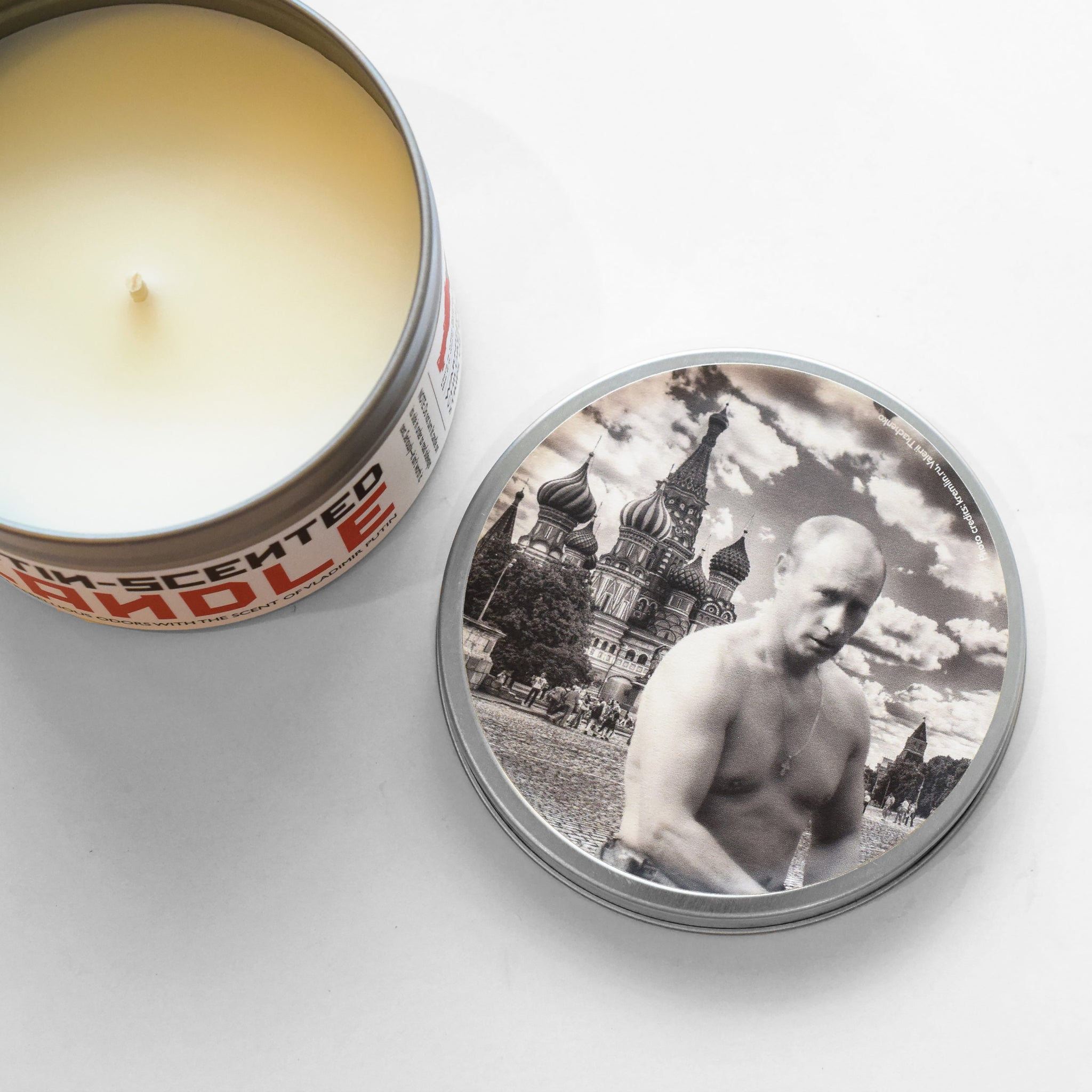 Putin-Scented Candle - JD and Kate Industries