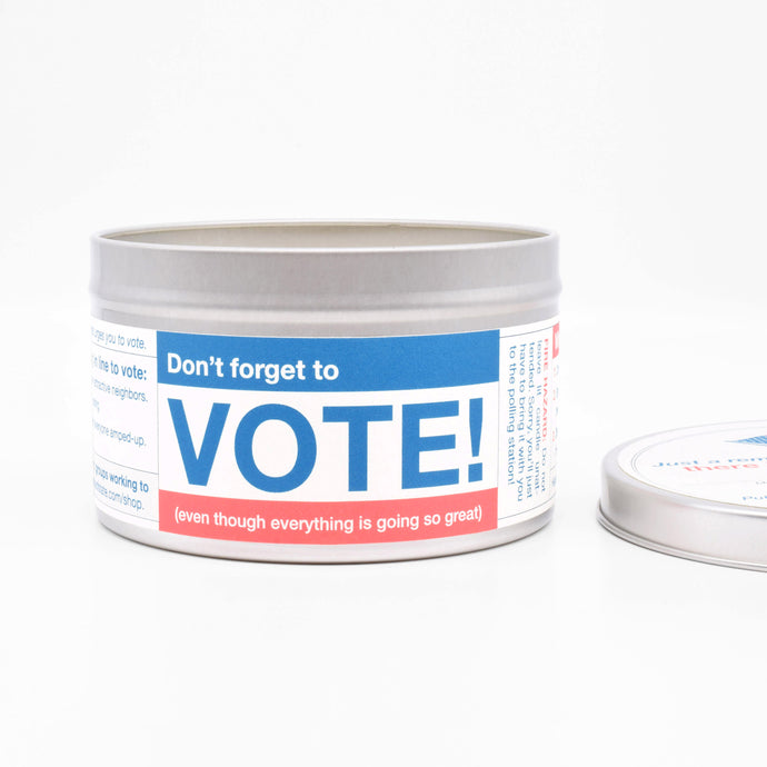 Don't-Forget-to-Vote-Candle
