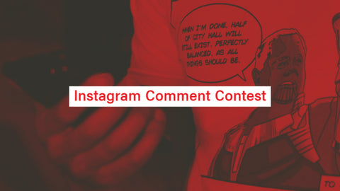 Post Six Instagram comment discount code contest