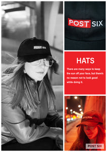 Post Six Look Book Hats 2018