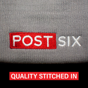 Quality stitching in hats and embroidered designs by Post Six