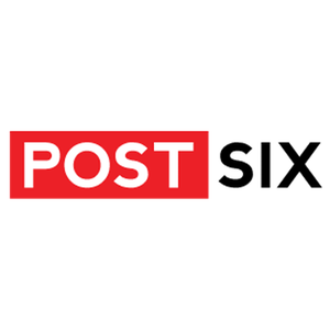 Post Six Logo Sticker