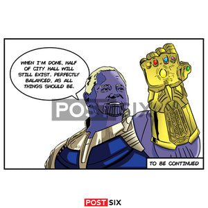Thanos Ford Sticker