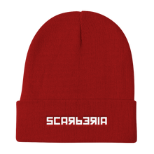 Load image into Gallery viewer, Scarberia Red Beanie