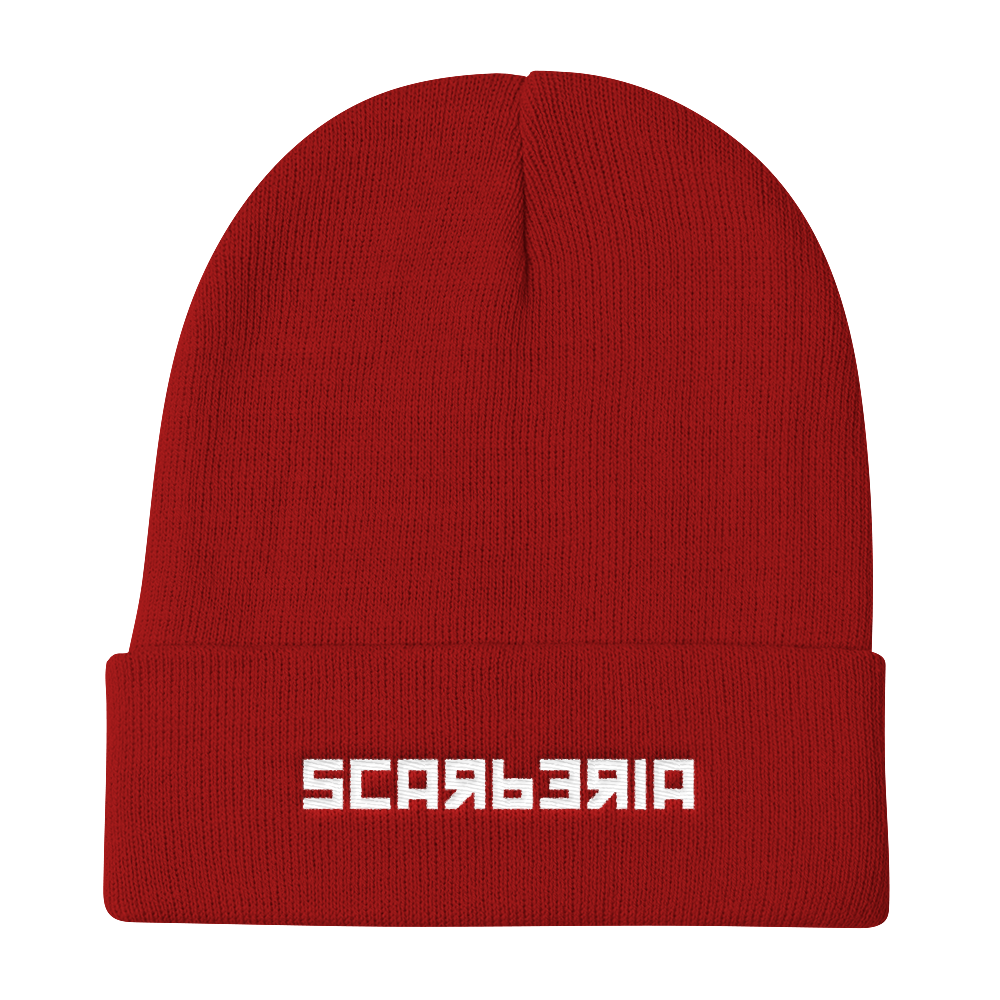 Scarberia Red Beanie