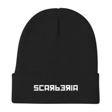 Load image into Gallery viewer, Scarberia Black Beanie