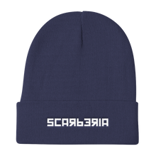 Load image into Gallery viewer, Scarberia Navy Blue Beanie