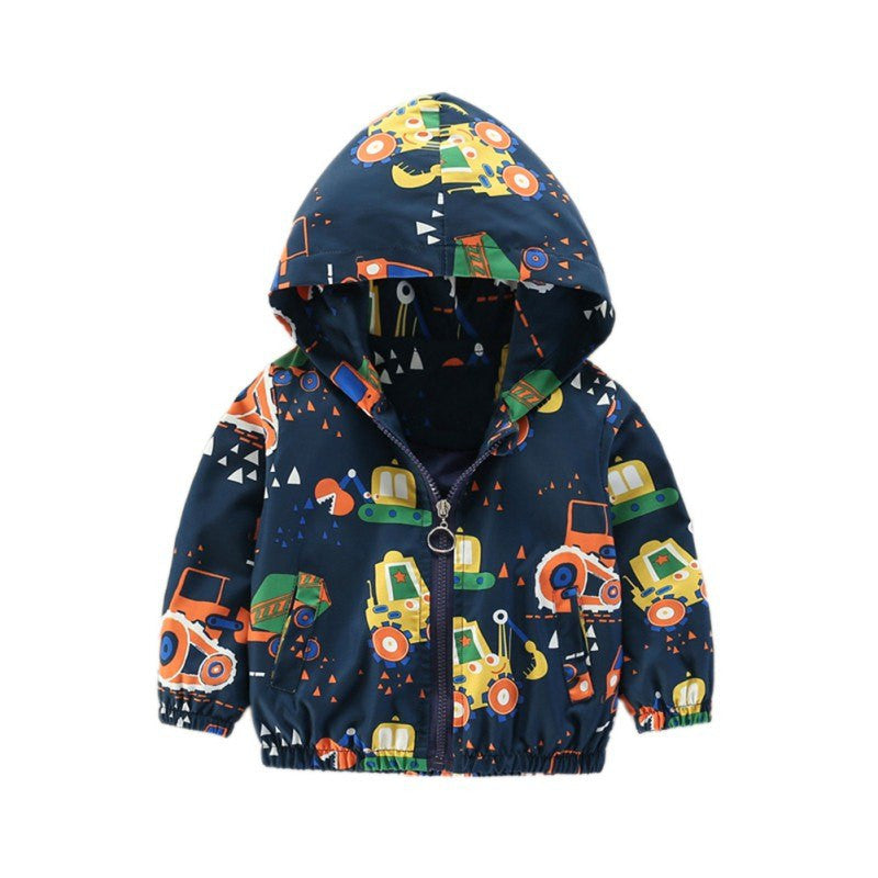 Fashion Spring Children Baby Coat Autumn Kids Jacket Boys Outerwear Coats Active Boy Windbreaker Baby Clothes Clothing