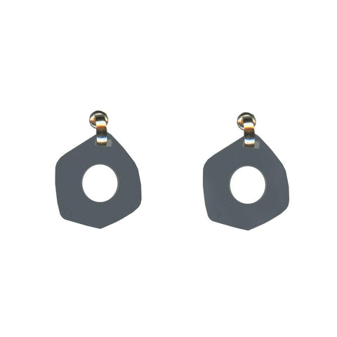 Chiarra Abstract Cut Out Earrings