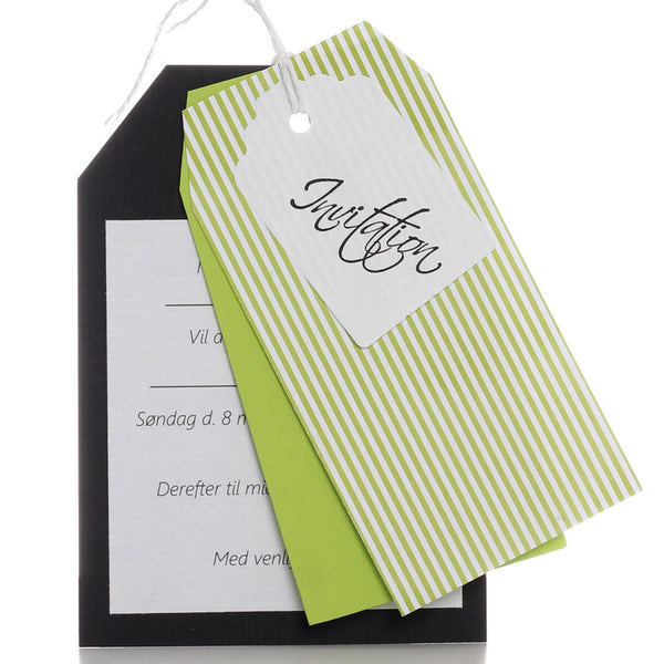 Invitation Elliot Diy, Lime