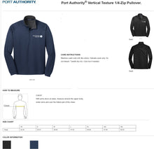 Load image into Gallery viewer, MMSD Logo, Unisex 1/4-zip Pullover, Embroidered