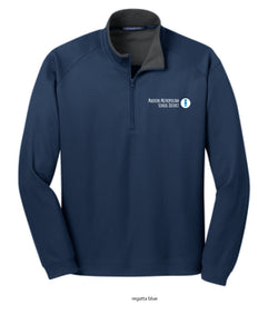 MMSD Logo, Unisex 1/4-zip Pullover, Embroidered