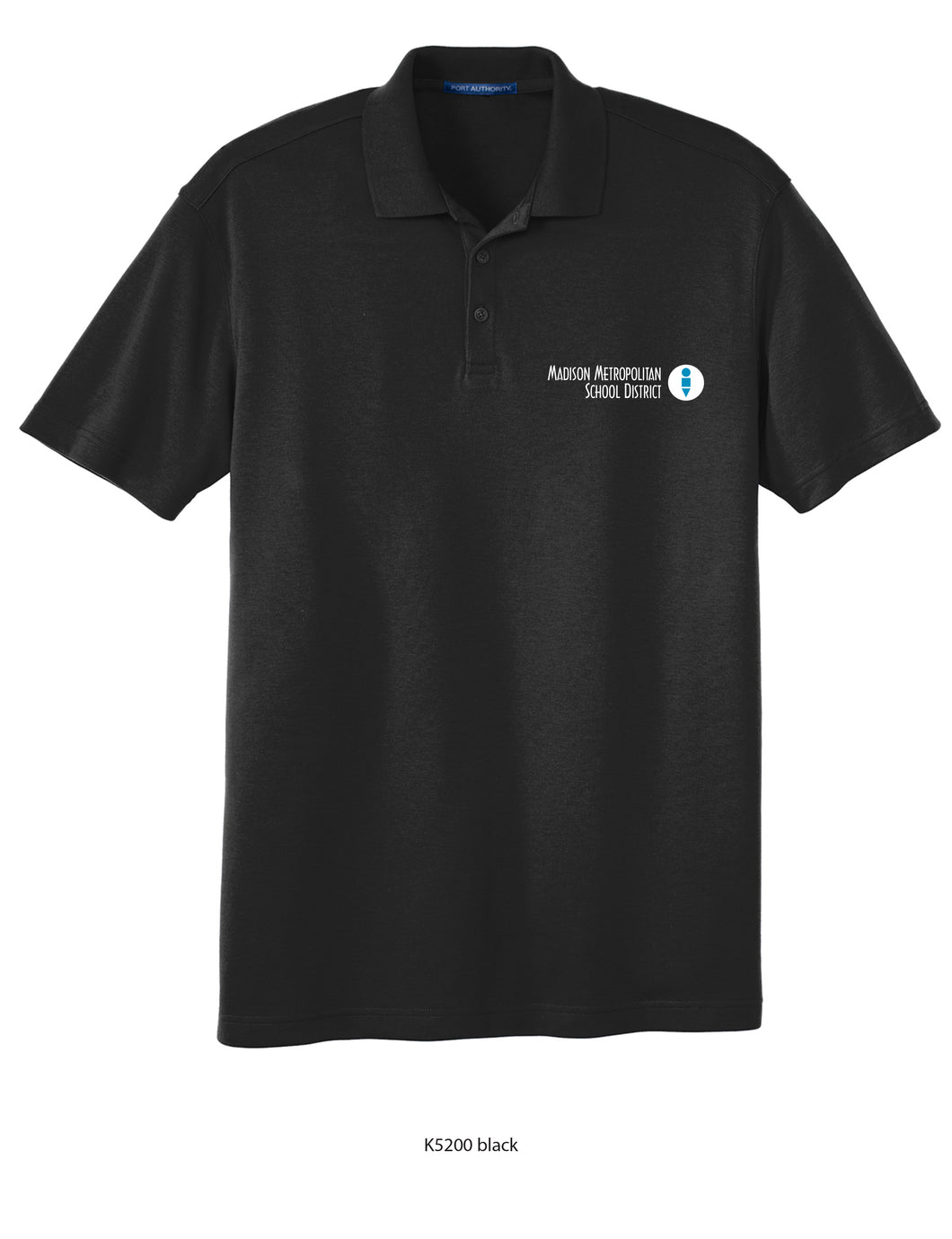MMSD Logo, Unisex Short-sleeve Polo, Embroidered