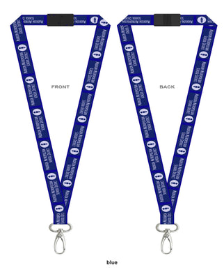 MMSD Logo, Break Away Lanyard 3/4