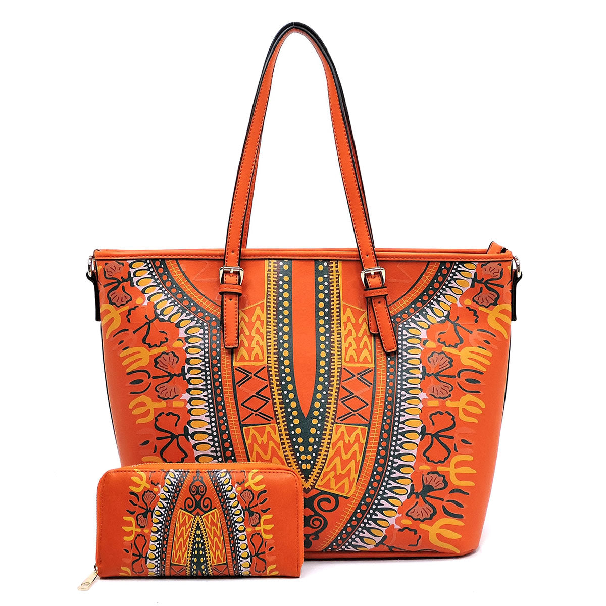 Dashiki Set - Orange
