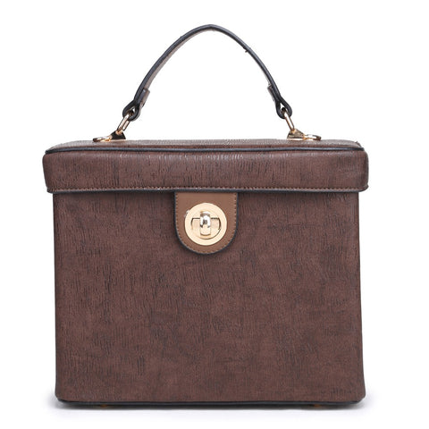 THE BOXIE BAG - COFFEE