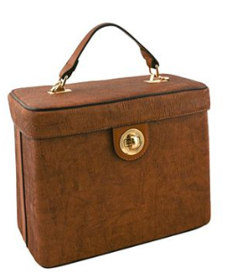 THE BOXIE BAG - BROWN